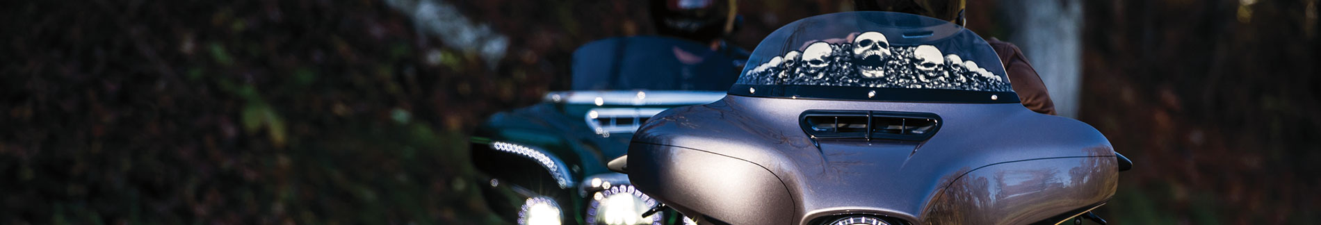 1 Pair Dark Smoke Air Deflectors for 2018-20 Honda Gold Wing Motorcycles Kuryakyn 6579 Air Management Motorcycle Accessory