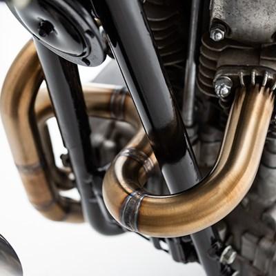 Dual Threat: Andy Kawa's XS650 Street Scrambler | Kuryakyn com